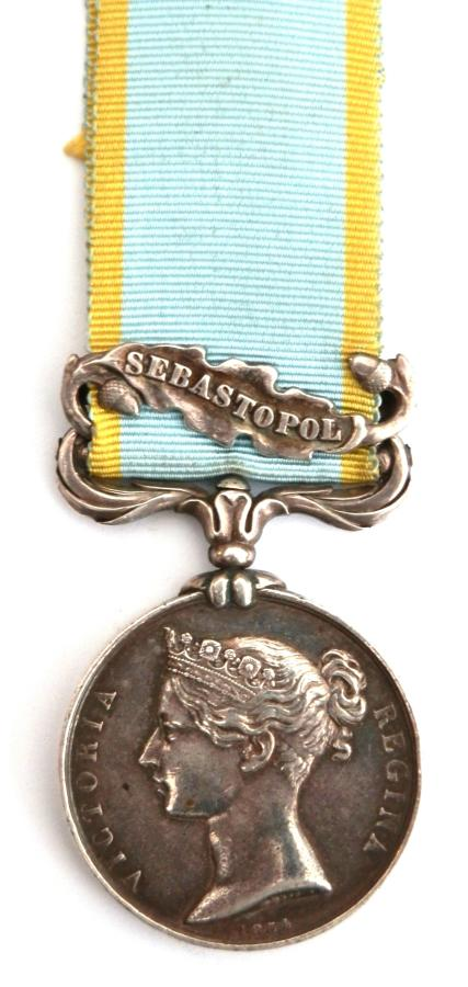 Crimea Medal 1854-56. Pte Joseph Lane. 44th Foot