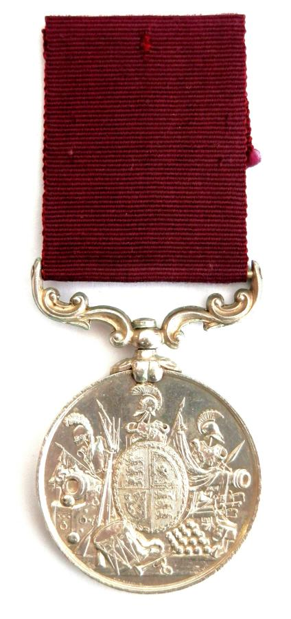 Army Long Service & Good Conduct. Pte E. Davies 3rd Rifle Brigade