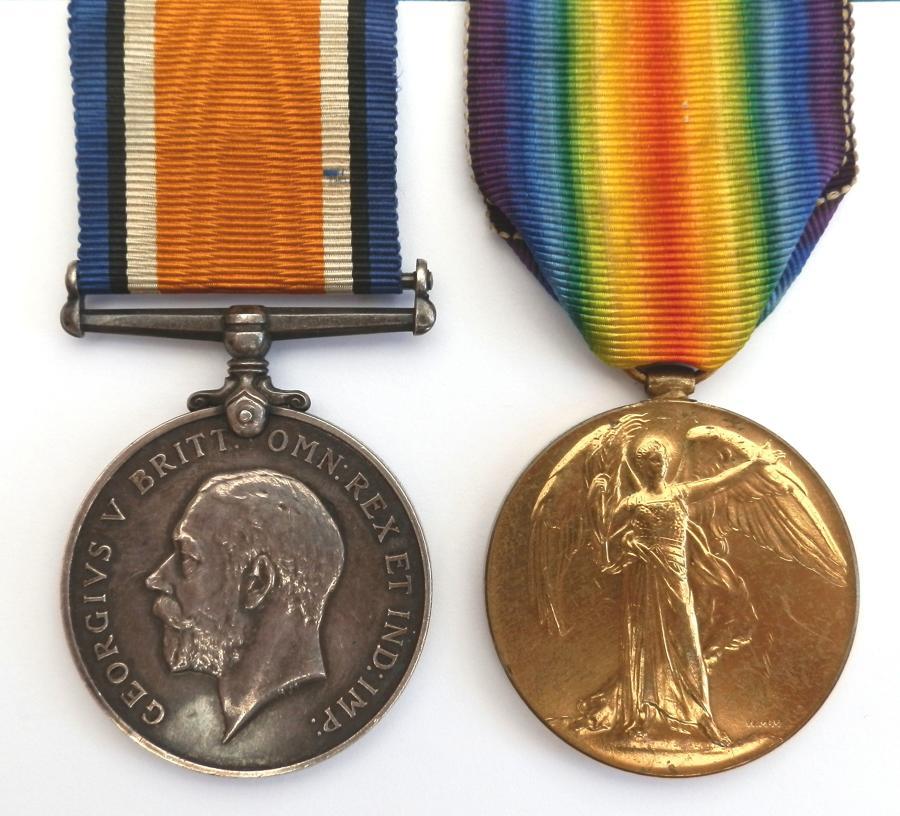 PAIR. Private Robert J. Scott. 3rd/9th East Surrey Regiment.