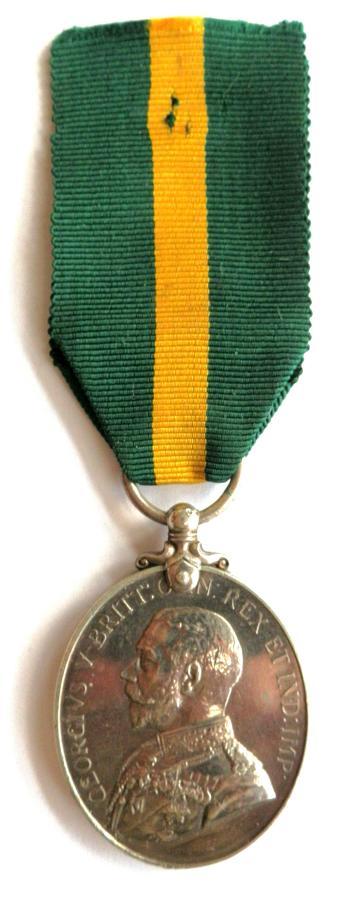 Territorial Force Efficiency Medal.1127 Pte G. G. Scott, 6/ Gloucester