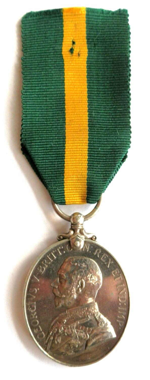 Territorial Force Efficiency Medal.1127 Pte G. G. Scott, 6/ Gloucester