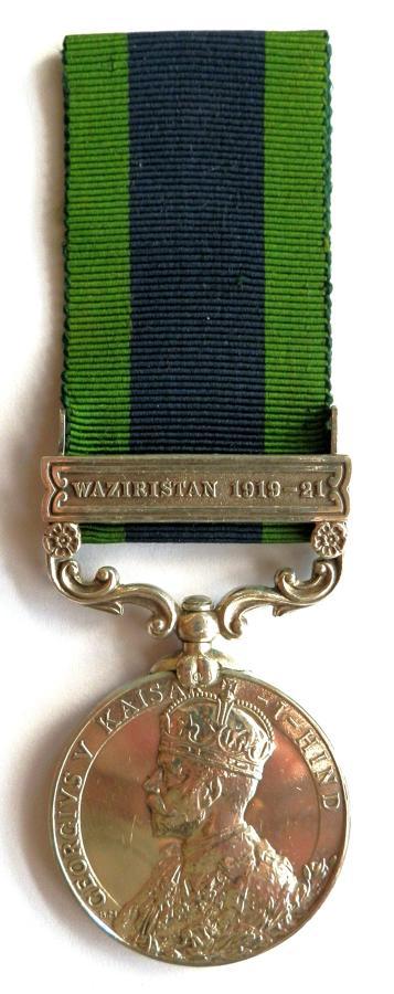 Indian General Service 1908. Pte. C. Dann. Norfolk Regiment.
