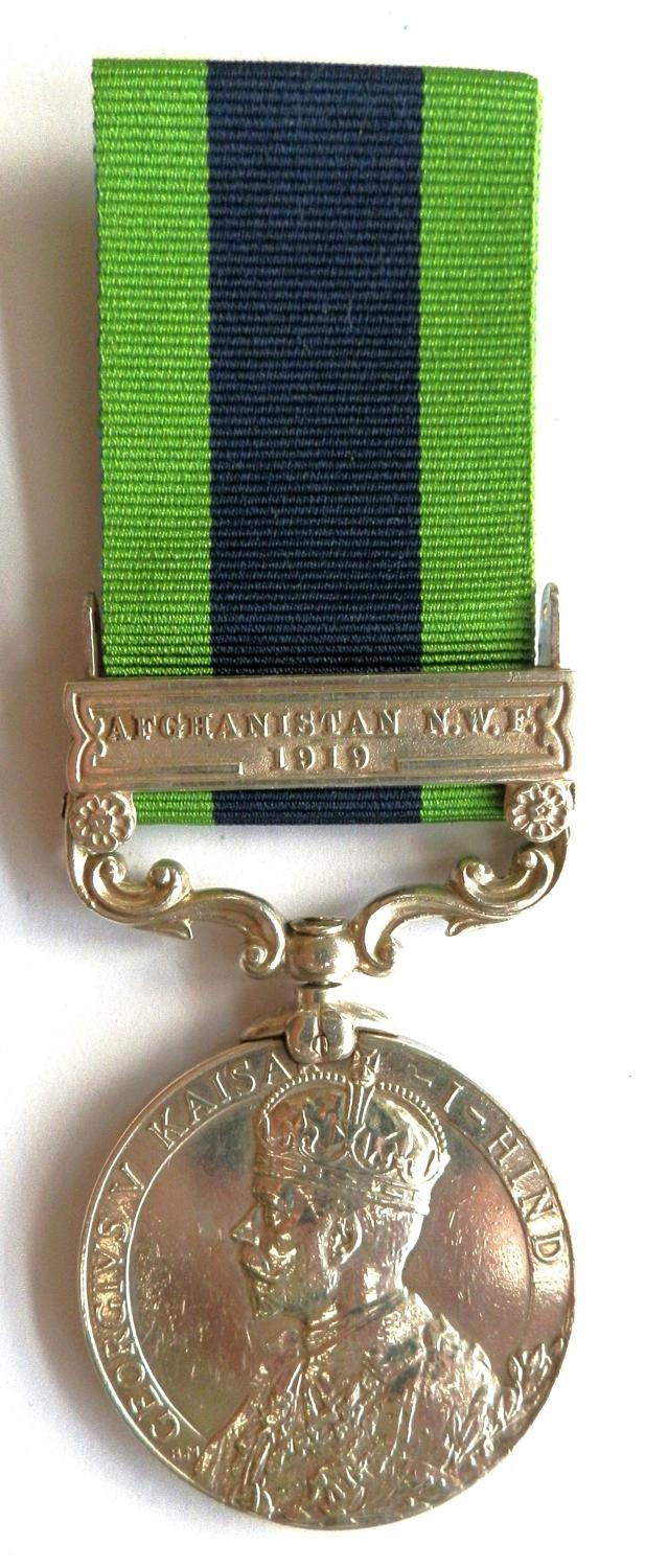 Indian General Service 1908. Pte. R. Smith, 1/5 The Queen's Rl. Regt.