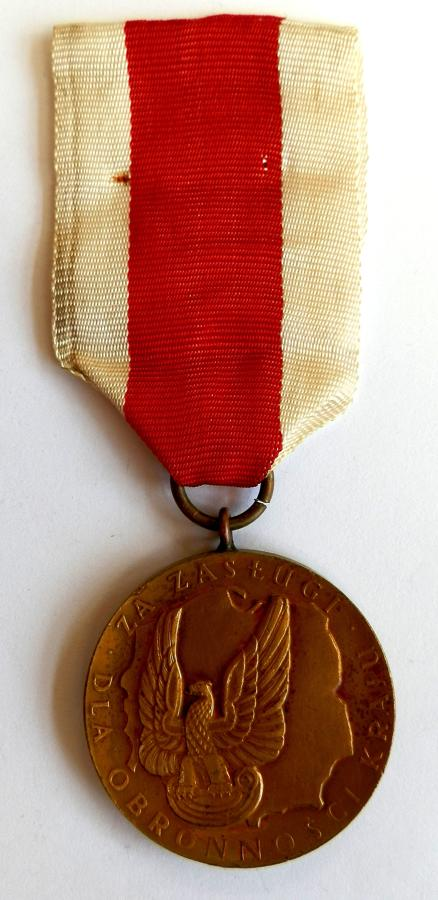 Polish National Defence Medal 1966 issue.
