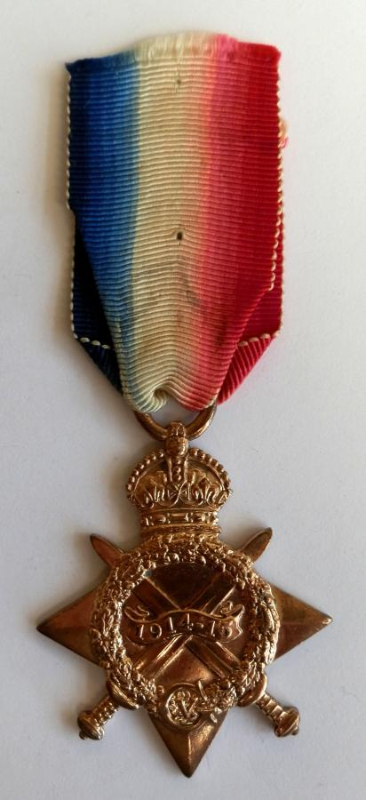 1914-15 Star Driver Robert Cruddas A.S.C. Killed in Action