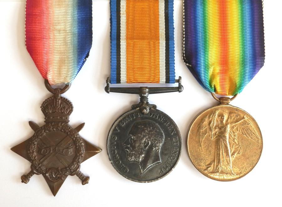 TRIO. Gunner William Hindle. Royal Field Artillery