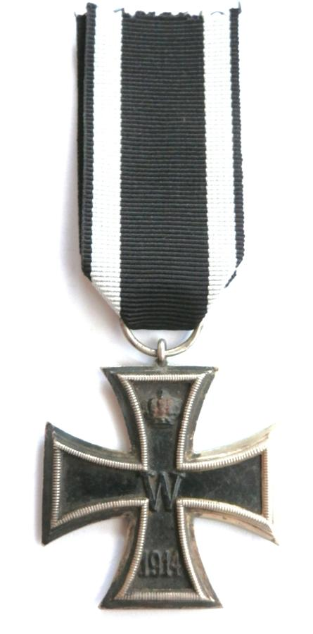 Imperial German WWI, Iron Cross 2nd Class. Makers Marked KO