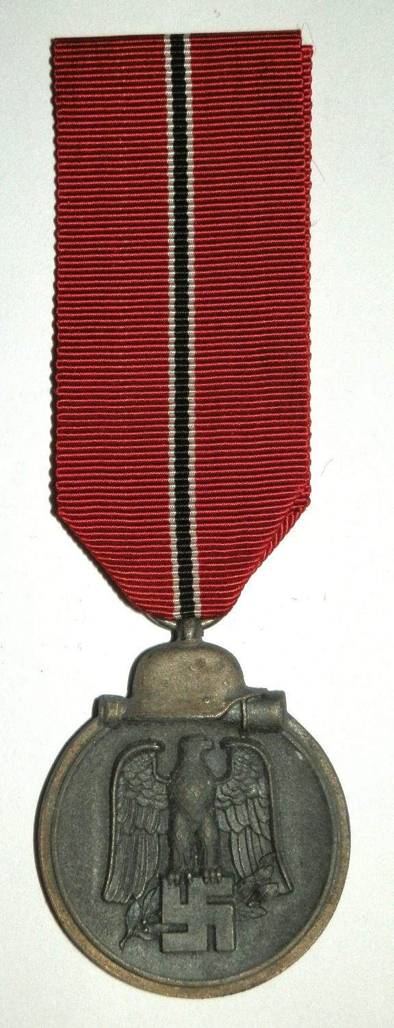 Winter Campaign Medal Russia 1941-42. (Eastern Front Medal) Marked 13