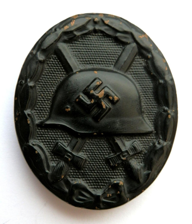 German Black Wound Badge
