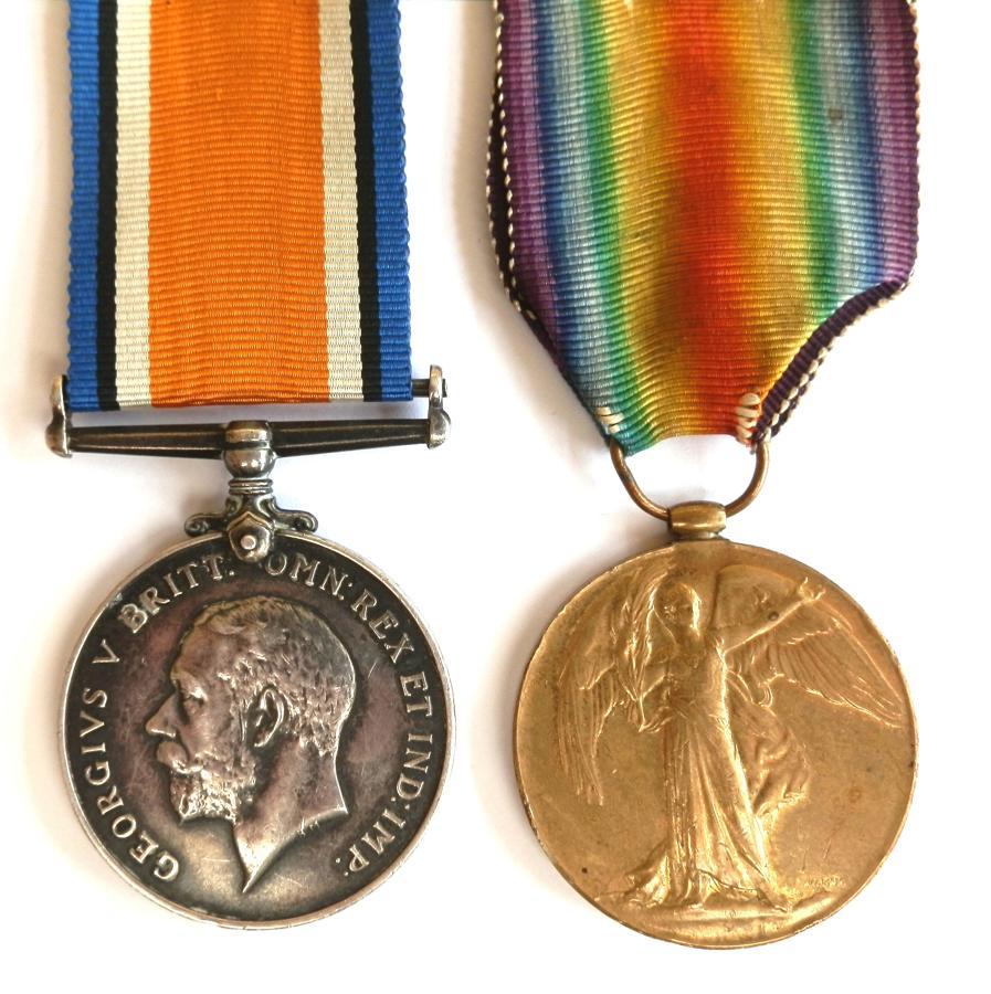 PAIR. Private Charles Tate. West York Regiment