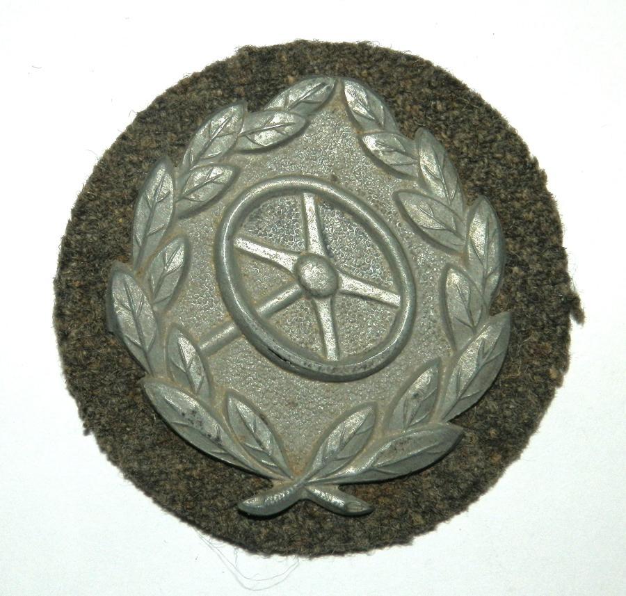 """Driver's Proficiency Badge """"Kraftfahr-Bewährungsabzeichen"""""""