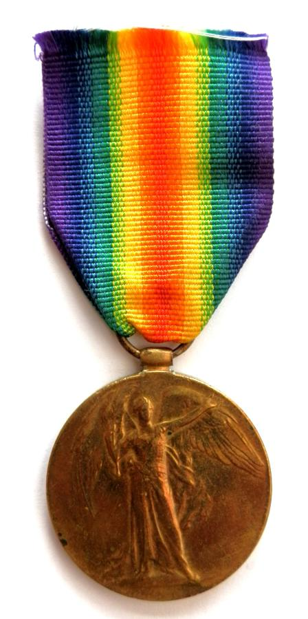 Victory Medal. Sergeant John F. Persey M.S.M., R.A.V.C.