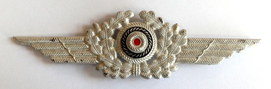 Luftwaffe NCO Cap insignia