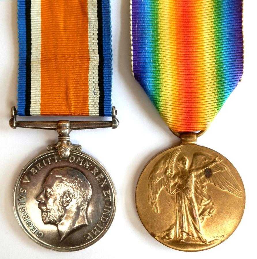PAIR. Private Allan MacCuish 1st Cameron Highlanders