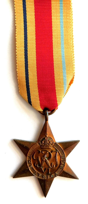 Africa Star, Campaign Africa 1940-43