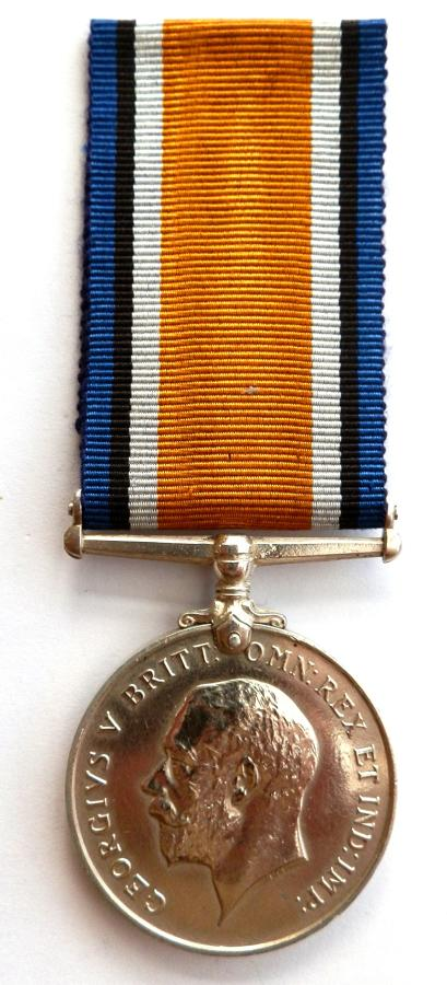 British War Medal. Private Christian A.C.Clarke. 13th London Regiment.