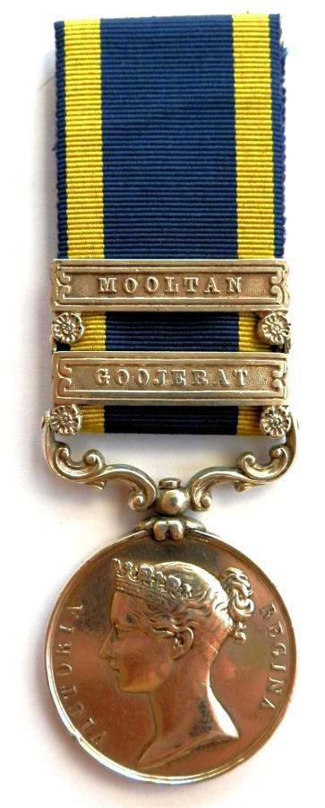 Punjab Medal 1848-49. J. Reilly 1st Bn. 60th Rifles Regiment.
