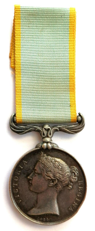 """Crimea Medal 1854-56, """"un-named""""."""