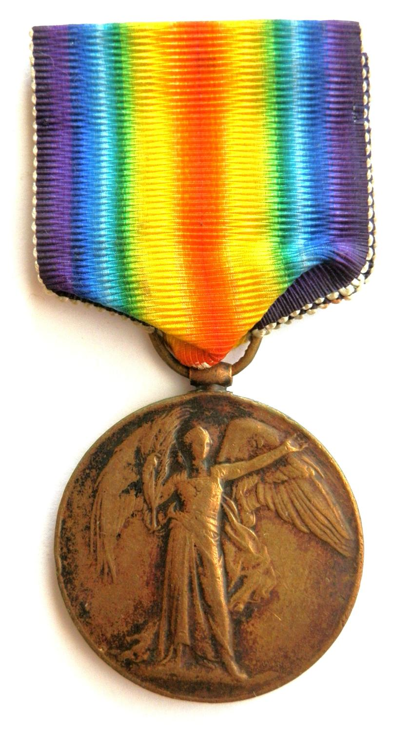 Victory Medal. Captain Francis Collins, Royal Army Medical Corps
