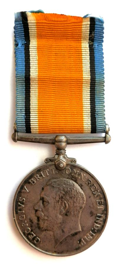 British War Medal. Spr. Richard J. Fletcher. Territorial Field Copy R.