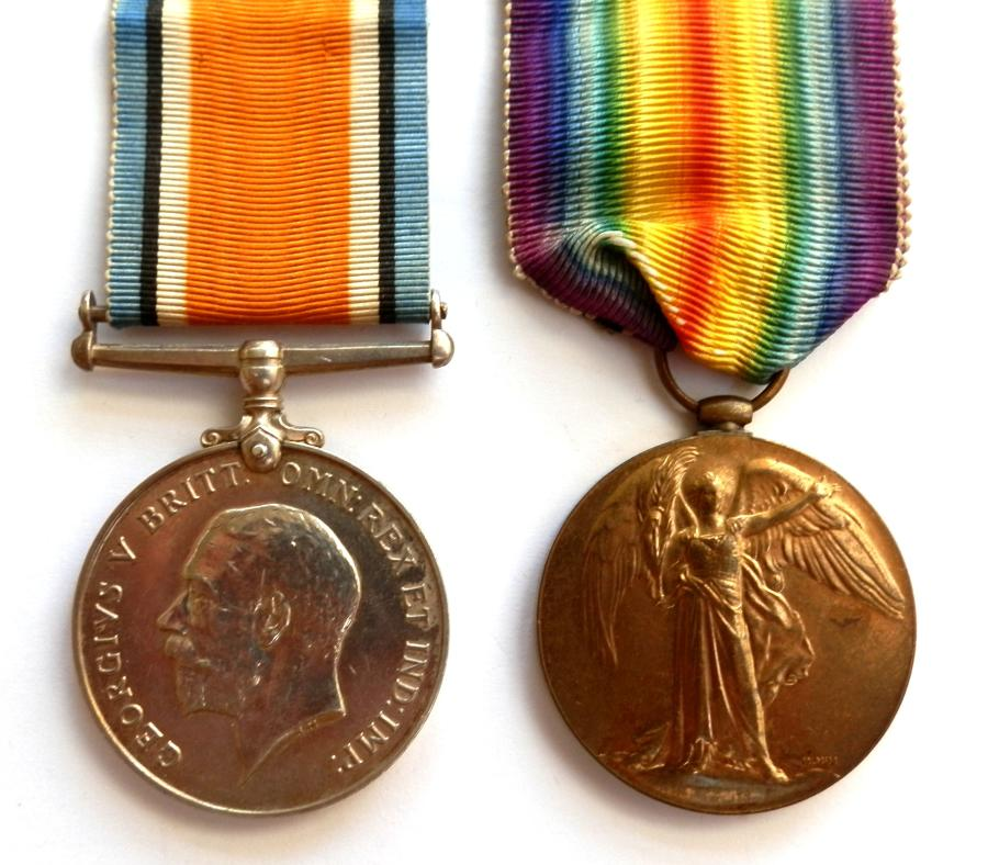 PAIR. Private S. Cook. Somerset Light Infantry. S.W.B.