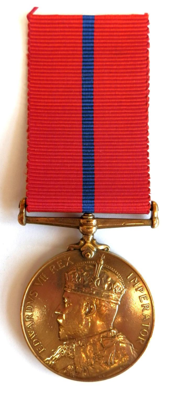 Coronation (St John Ambulance Brigade) Medal 1902