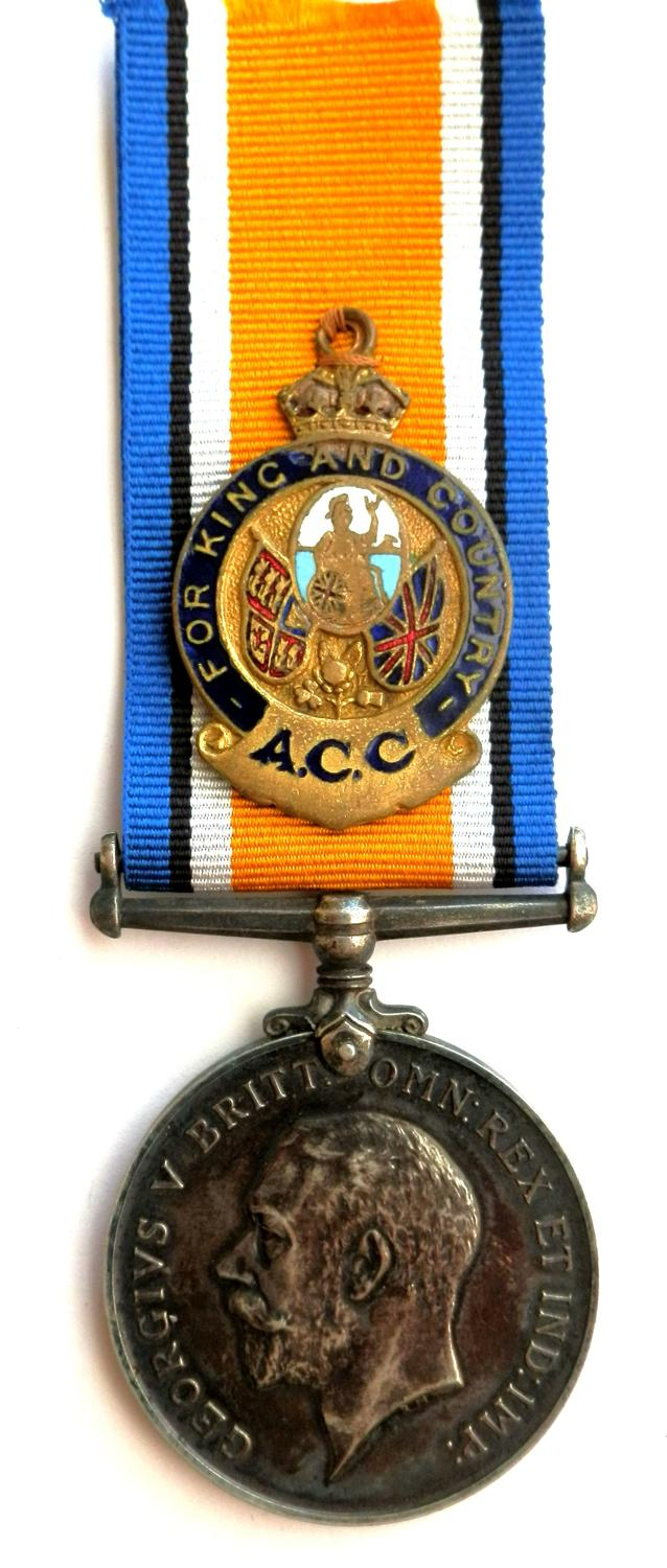 British War Medal. Lieutenant William Edwin Moon, R.G.A. & A.S.C.