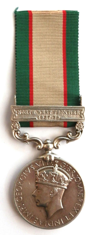 Indian General Service 1936-39. Head Con. Jagan Nath. Police Dept