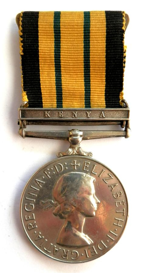 Africa General Service. Private P. Hopson. K.S.L.I.