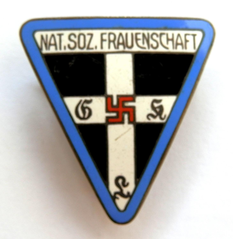 Nat. Soz, Frauenschaft Women's Staff Members Pin Badge