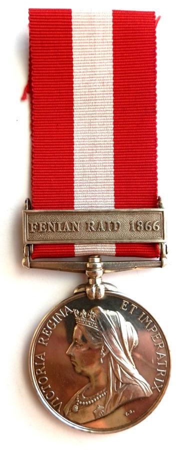 Canada General Service Medal. Pte F. Briere. Terrebonne R. Co.