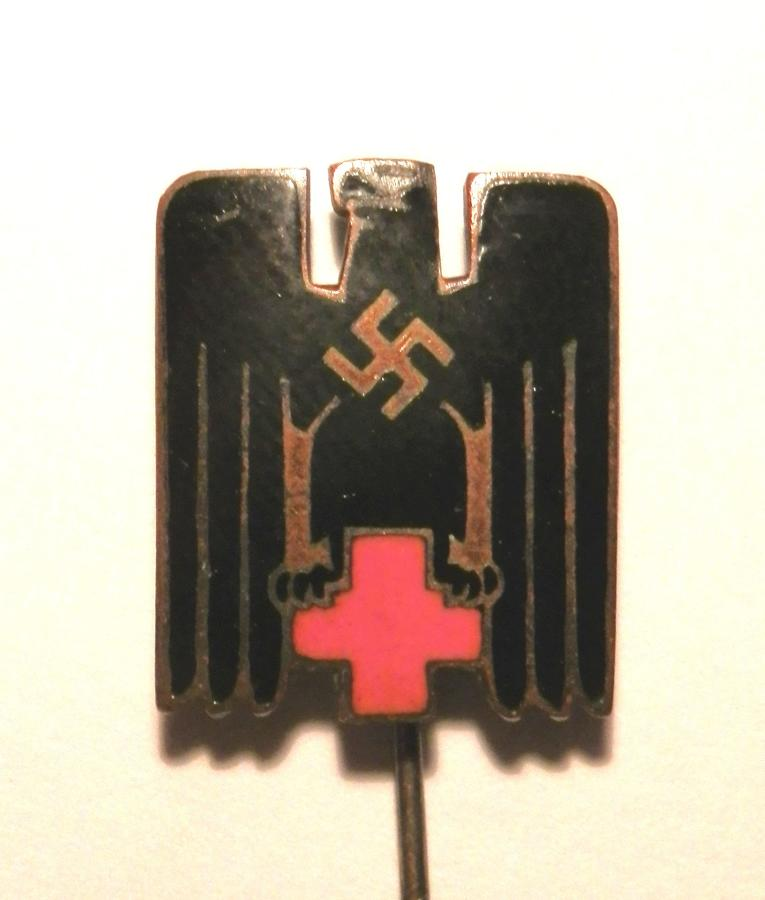 German Red Cross DRK Members Pin.