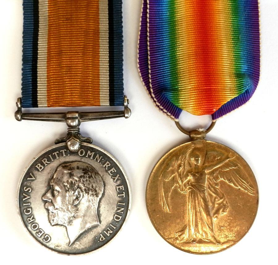 PAIR. Private J. Pearce, 11th London Regiment