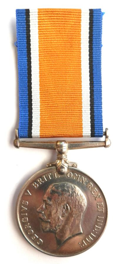 British War Medal. Pte. J. H. Castle 789TH (M.T.) Coy, A.S.C. DIED.