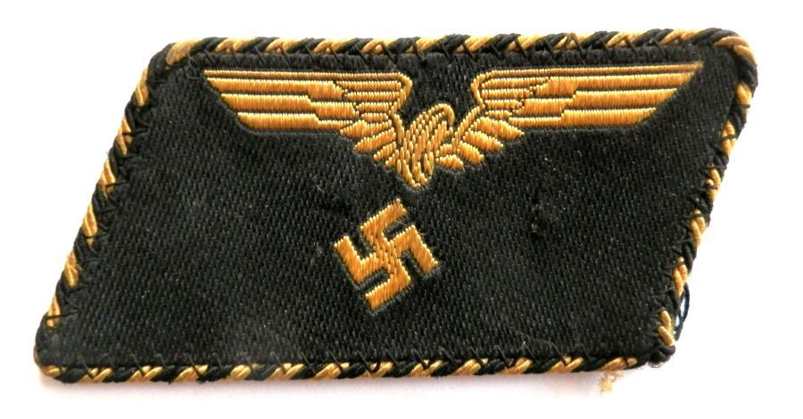 Deutsches Reichsbahn DR Official Collar Insignia