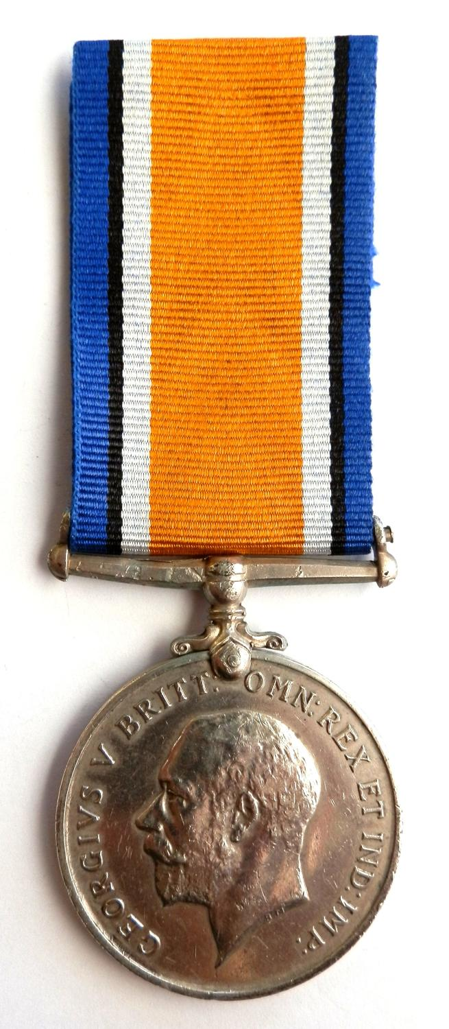 British War Medal. Private Edward A. Lambert. 13th London Regt. S.W.B.