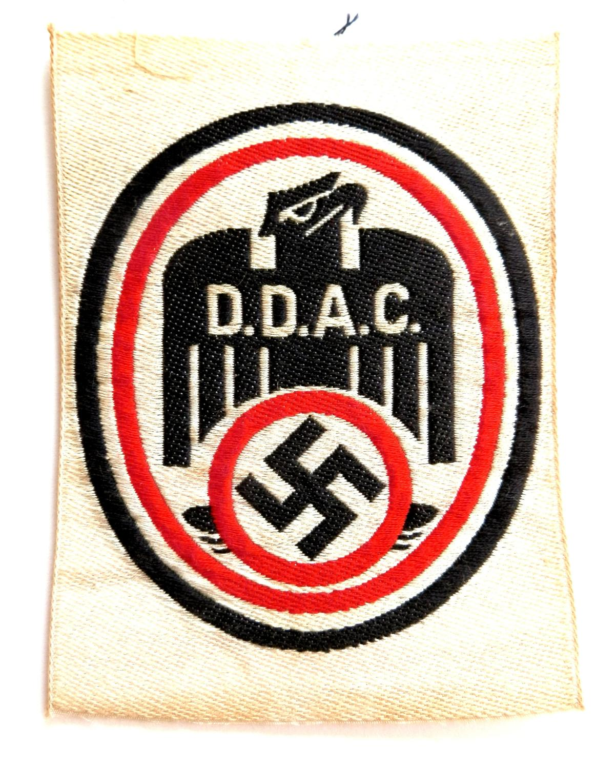 D.D.A.C. Pattern Sports Badge