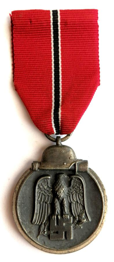 Winter Campaign Medal Russia 1941-42. (Eastern Front Medal) Marked 19