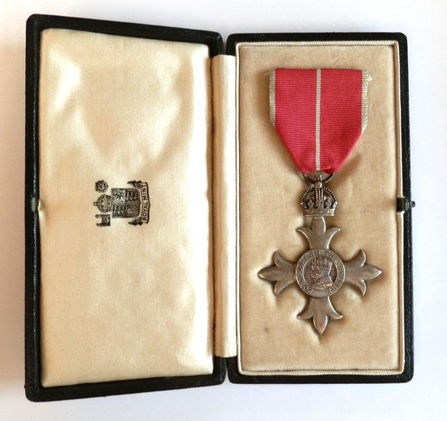 Most Excellent Order of the British Empire (Military) 2nd Type.