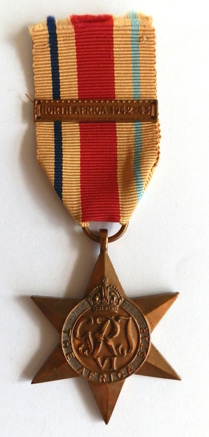 Africa Star. Clasp North Africa 1942-43