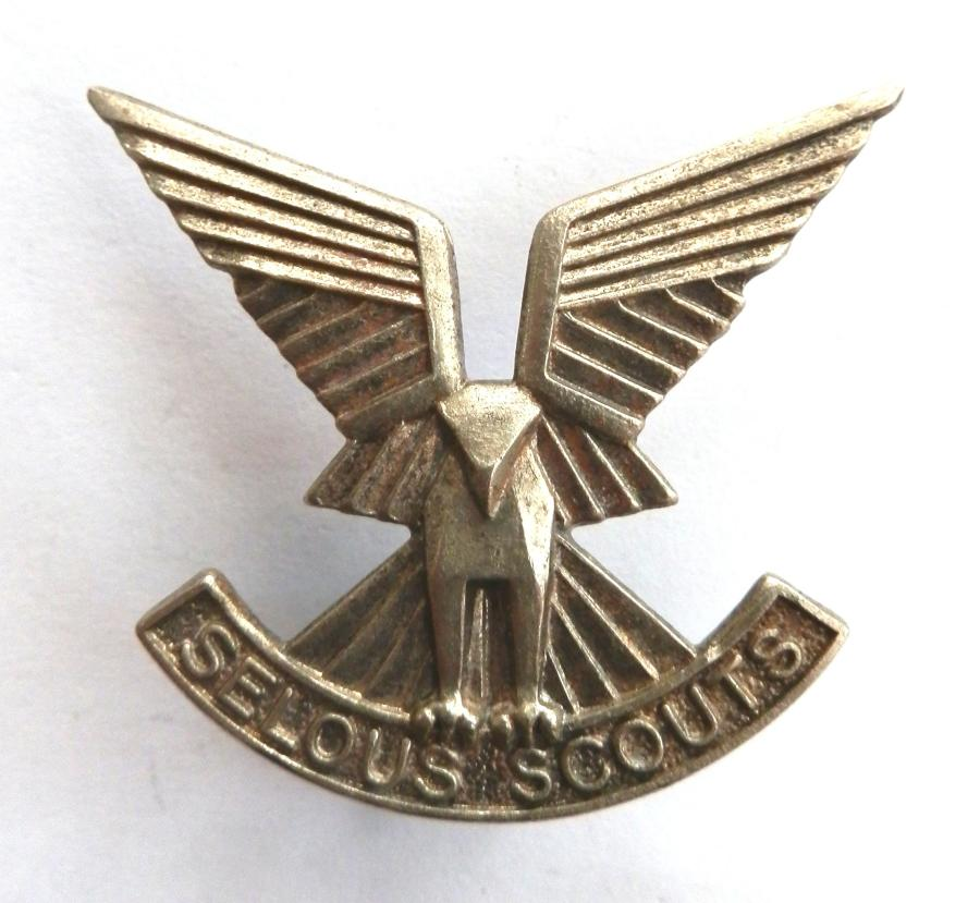 Rhodesian Army Selous Scouts Cap Badge