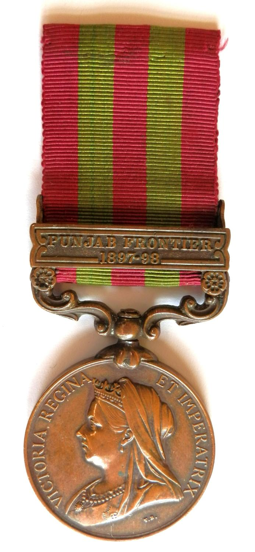 Indian General Service 1895. Mutsadi Kundan Jat. 14th Sikhs.