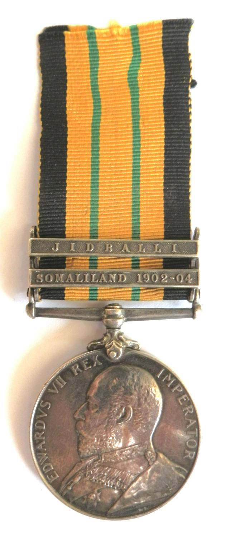 Africa General Service. 2115 Sepoy Rahmat. 52nd Sikhs