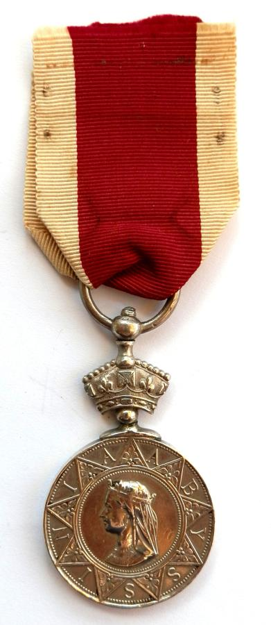 Abyssinian War Medal. Niguechinnien of the Sappers & Miners