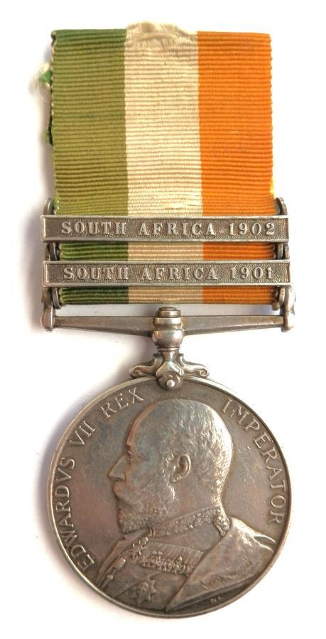 Kings South Africa. Pte G. H. S. Redmayne. 3rd Bn, E. Lanc. Regt.