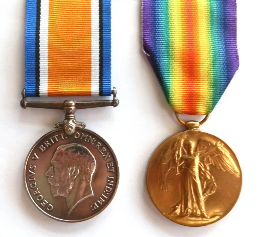 PAIR. Private Leonard Wagstaff. 1st/ 5th East Surrey Regiment.