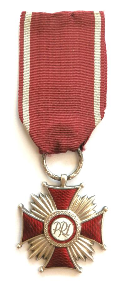Polish Silver Cross, Medal of Merit.