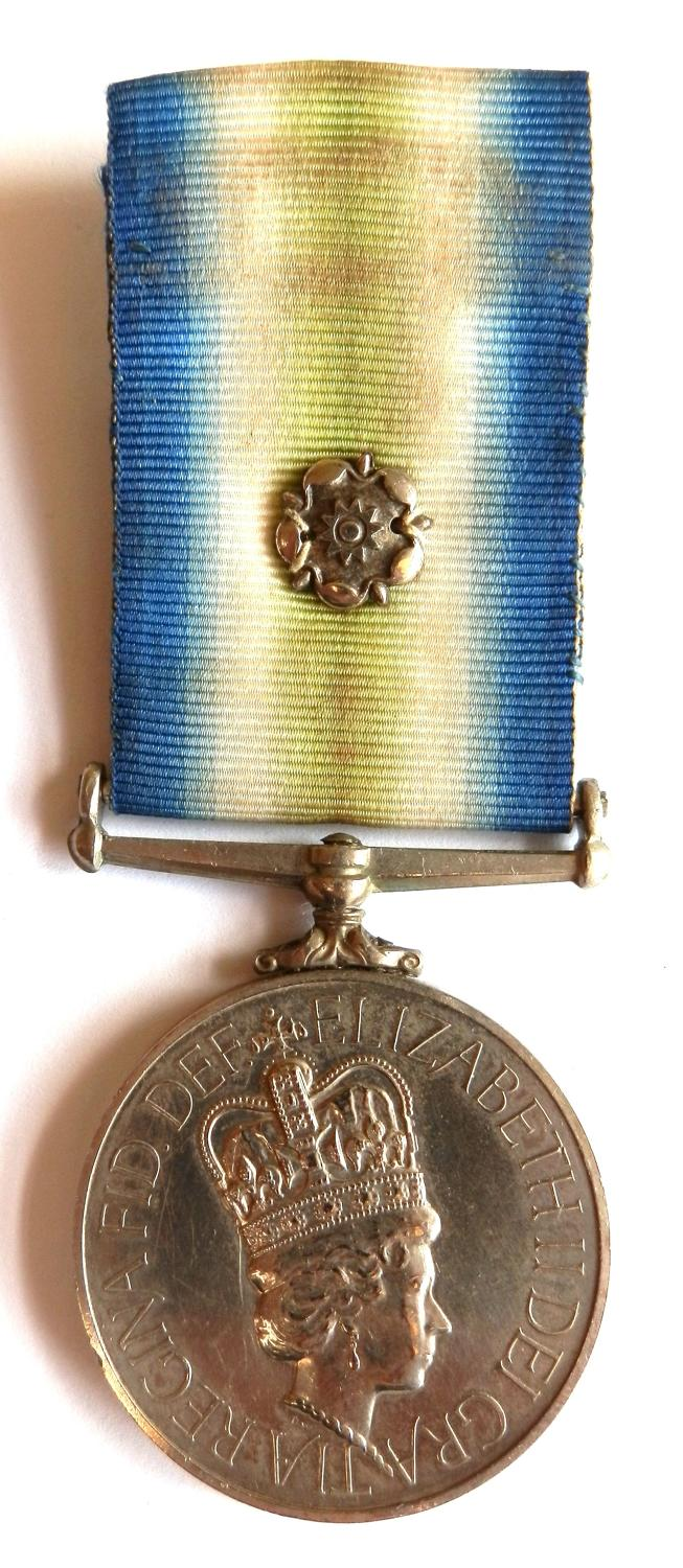 South Atlantic Medal 1982. SG1A Mr M.N.Wytcherley. Royal Fleet Auxilia
