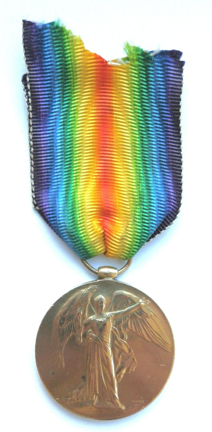 Victory Medal. Private Thomas G. Tarry. Middlesex Regiment.
