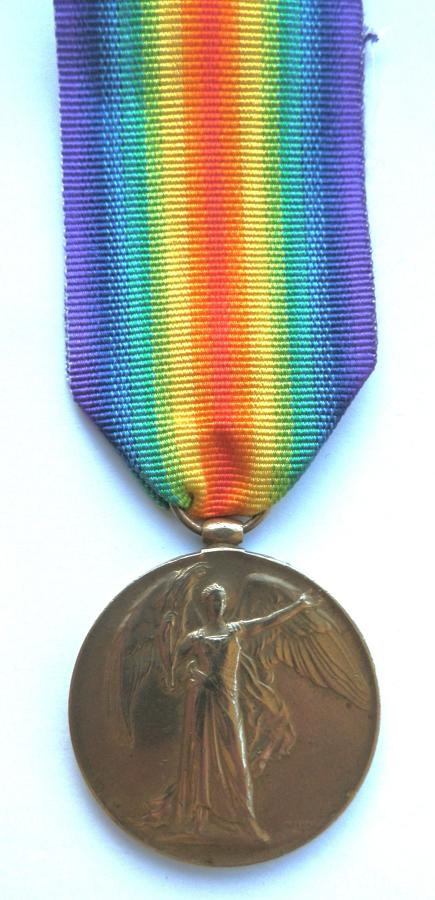 Victory Medal. 3.AM. Archiebald H. Brooker. Royal Air Force